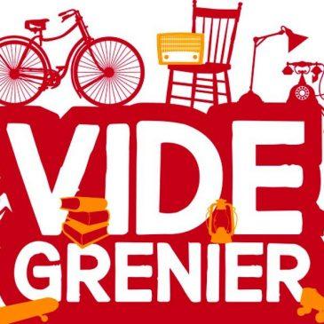 Dernière information -Vide Grenier 2019