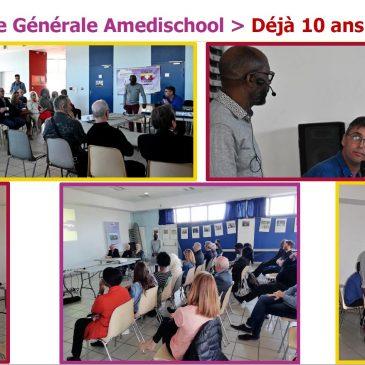 Assemblée Générale AMEDISCHOOL 2019 – 10 ans déjà